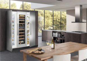Специализированный винный шкаф
